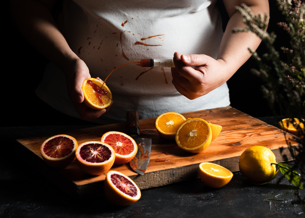 The making of blood oranges